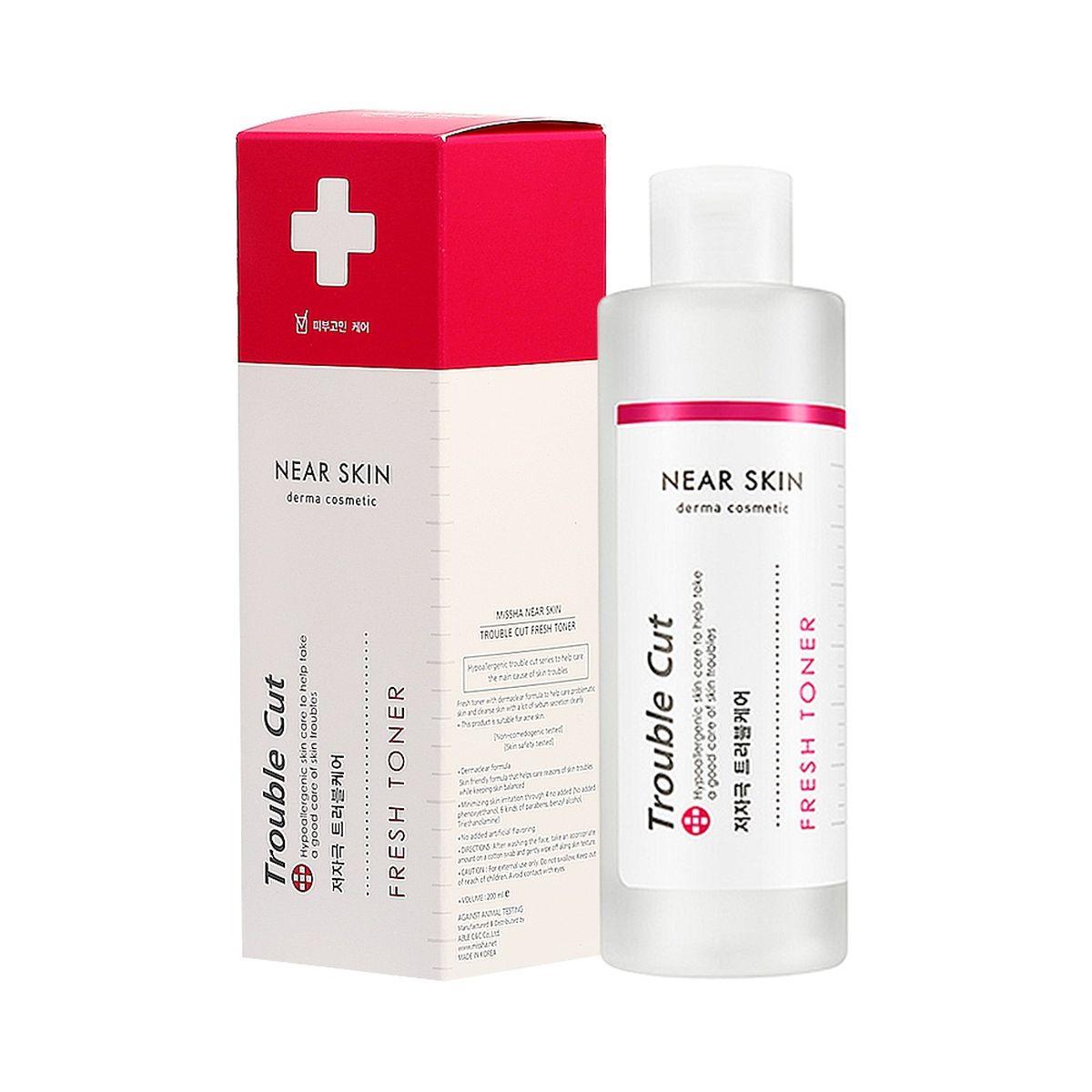 Освежающий тонер для проблемной кожи MISSHA Near Skin Trouble Cut Fresh Toner - 200 мл