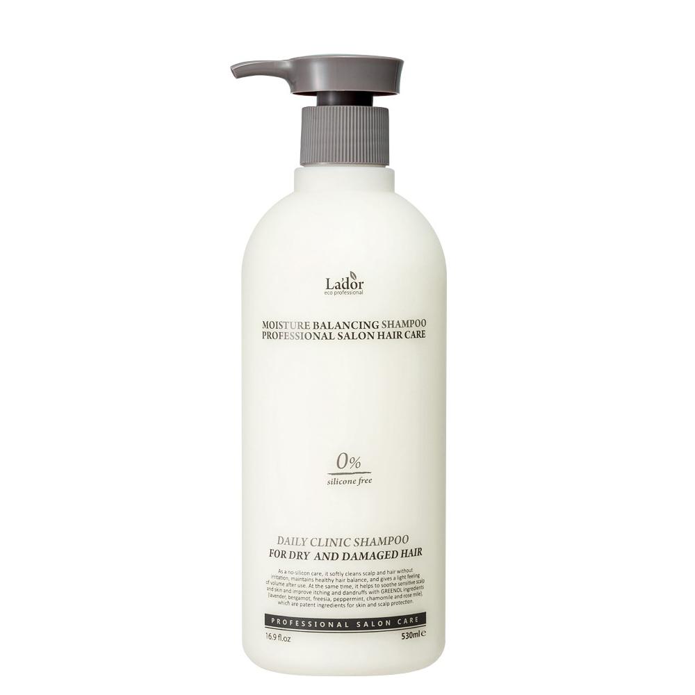 Увлажняющий шампунь для волос Lador Moisture Balancing Shampoo - 530 мл