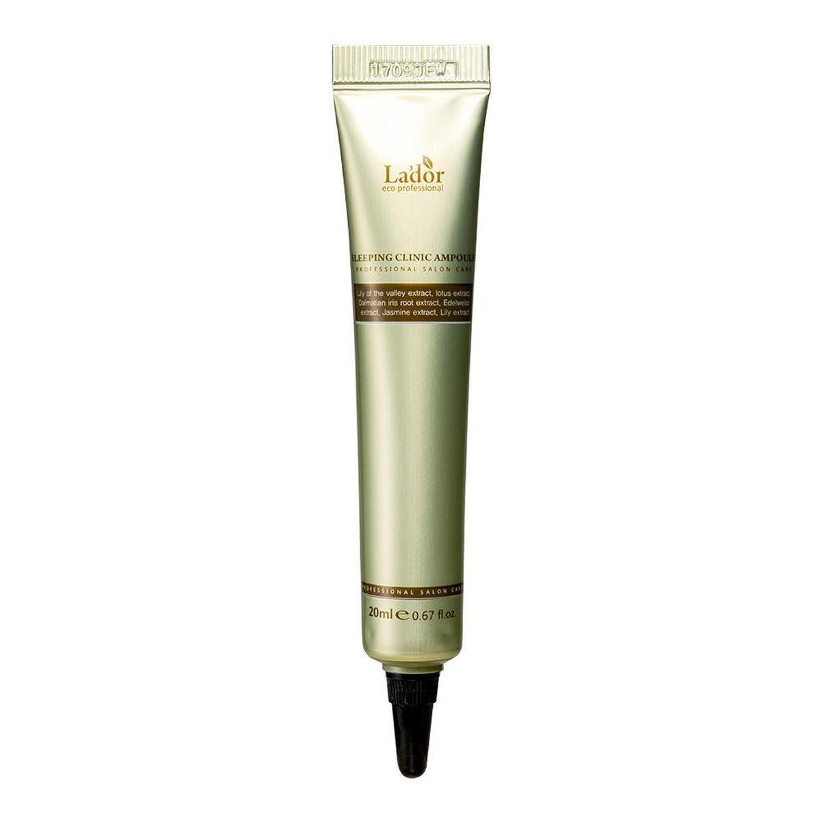 Ночная сыворотка для волос Lador Keratin Power Fill Up Sleeping Clinic Ampoule - 20 мл