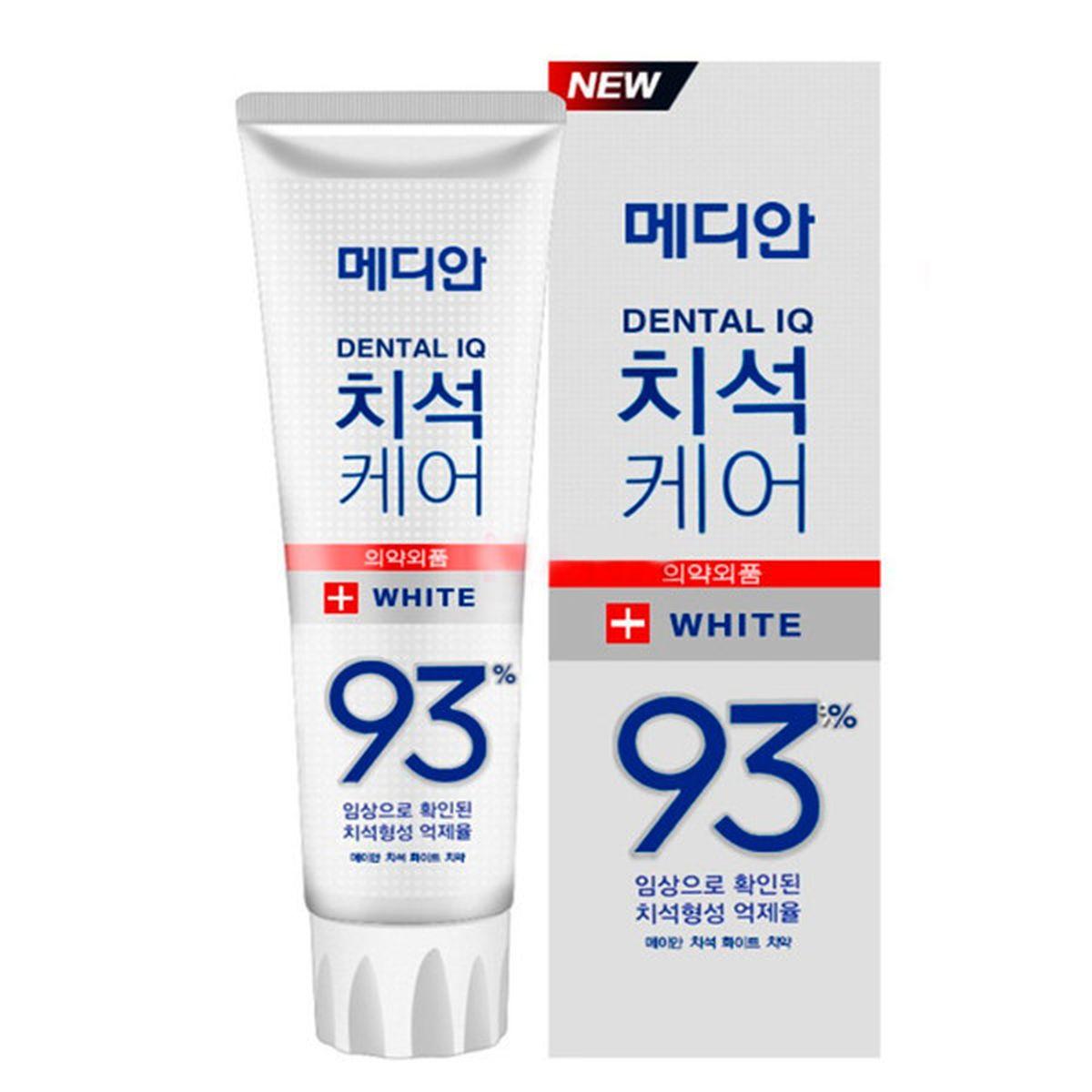 Отбеливающая зубная паста с цеолитом Median Dental IQ 93% White - 120 гр