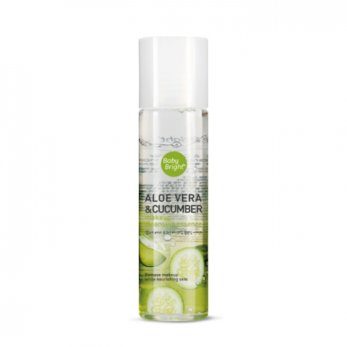 Эссенция для снятия макияжа Baby Bright Aloe Vera & Cucumber Make Up Cleansing Essence - 100 мл