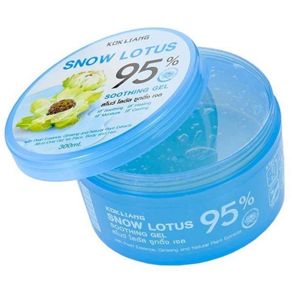Успокаивающий гель снежный лотос Kokliang Snow Lotus Soothing Gel - 300 мл