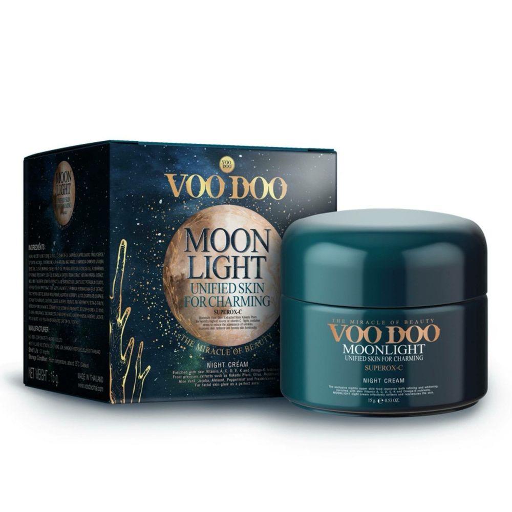 Ночной омолаживающий крем VOODOO Moonlight Night Cream - 15 мл