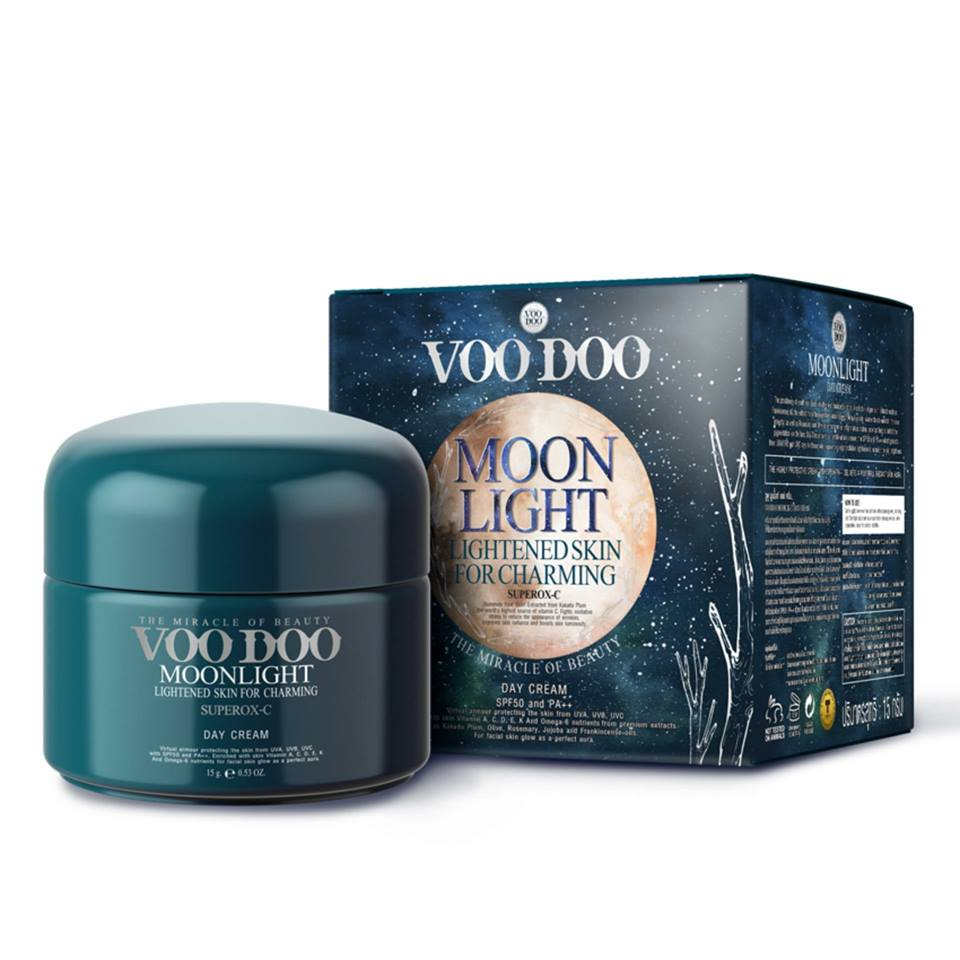Омолаживающий крем с SPF фактором VooDoo Moon Light Cream SPF50 - 15 мл