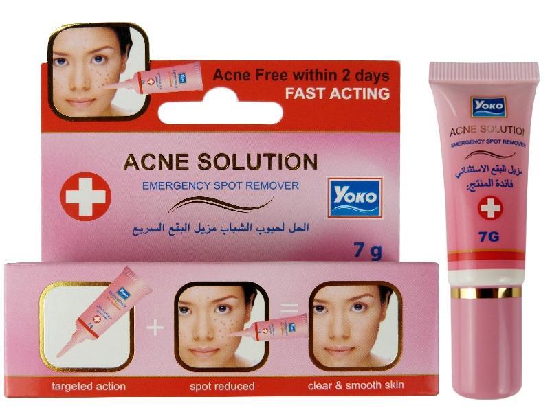 Точечный крем от акне Yoko Acne Solution Emergency Spot Remover - 7 гр