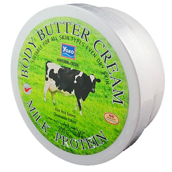 Крем-баттер для тела Yoko Body Butter Cream Milk Protein - 200 гр