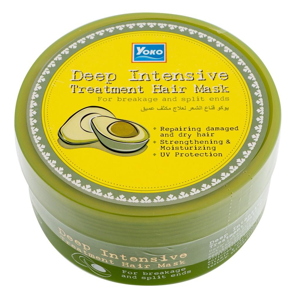Питательная маска для волос с авокадо Yoko Deep Intensive Treatment Hair Mask - 250 мл