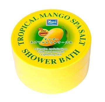 Скраб для тела c манго Yoko Tropical Mango Spa Salt Shower Bath - 240 гр