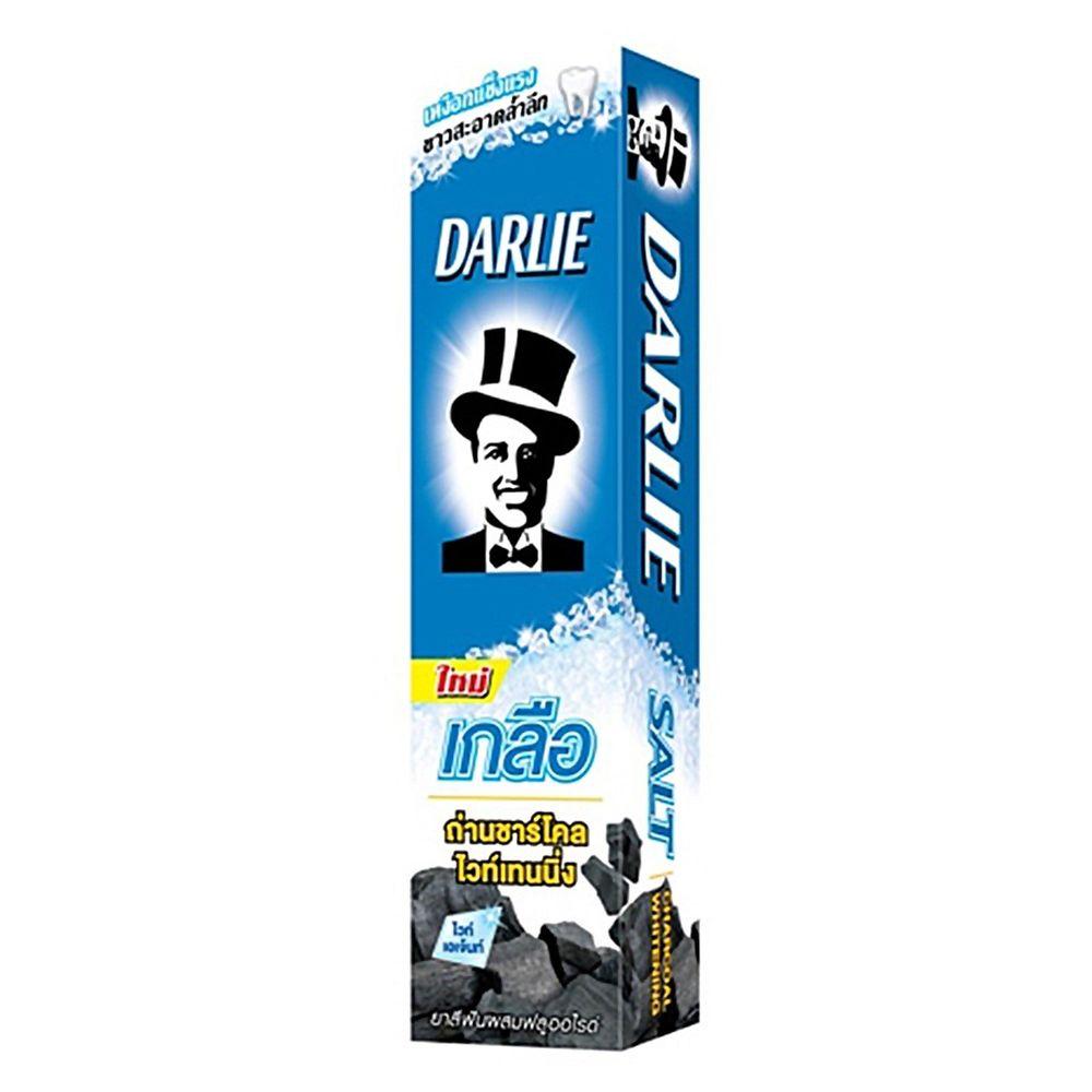Отбеливающая зубная паста с бамбуковым углем и солью Darlie Pro Active Salt Charcoal Whitening - 75 гр