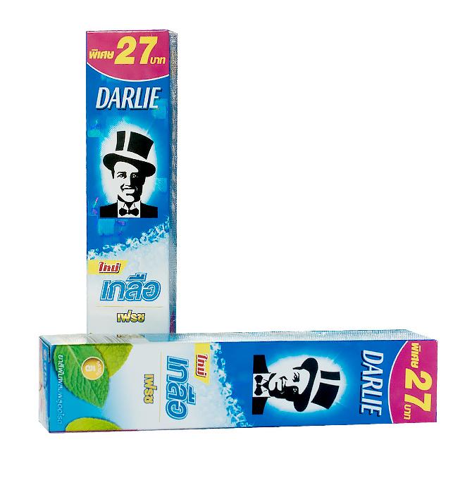 Отбеливающая зубная паста с солью и мятой Darlie Salt Fresh - 75 гр