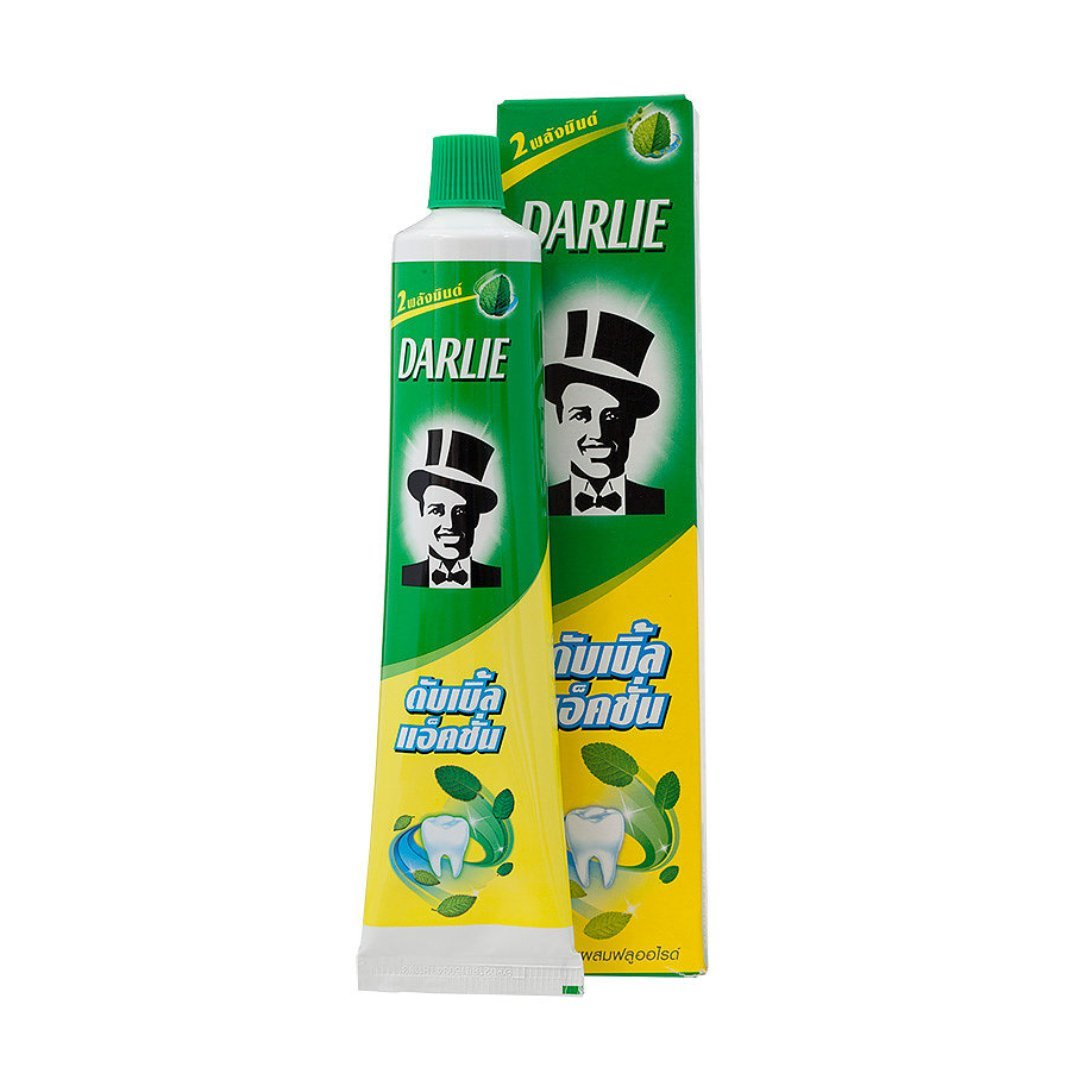 Отбеливающая зубная паста двойного действия Darlie Double Action - 85 гр