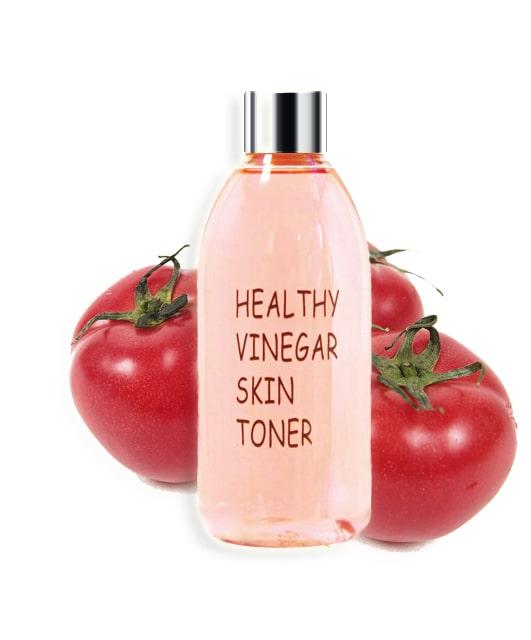 Успокаивающий тоник с томатом Realskin Healthy Vinegar Skin Toner (Tomato) - 300 мл